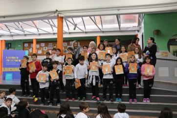 Entrega de livros Escola Villare 2016